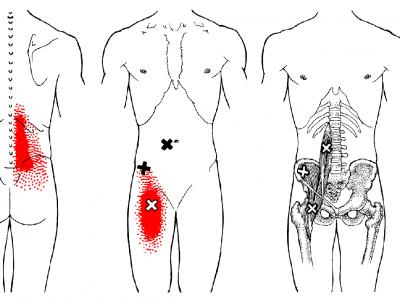 Thaise yogamassage strekkingen iliopsoas