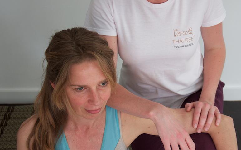 elleboog massage