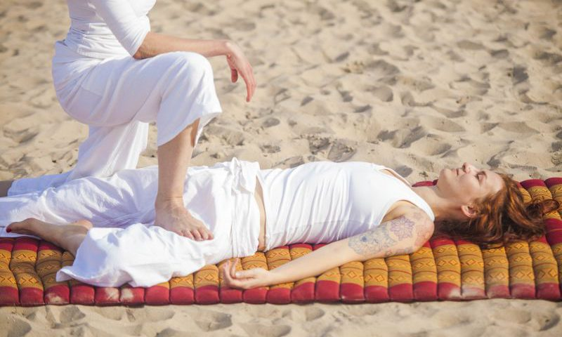 Thai feetmassage