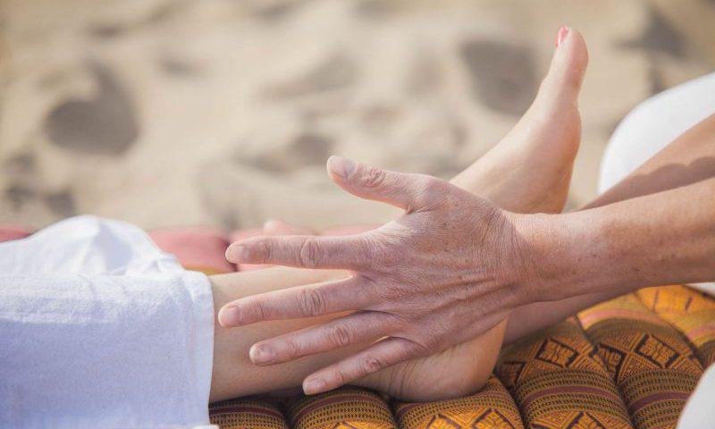 Thaise voetmassage