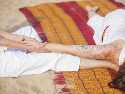 Thai feet massage