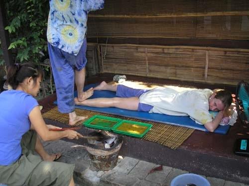 Yang Khan vuur therapie