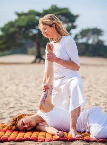 Thaise massage nek-schouder regio