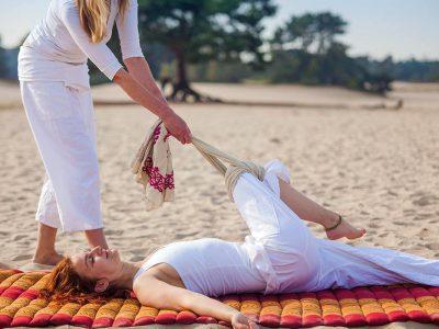 cursus Thaise massage met een doek
